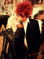 Kadaj and Reno cosplay Yaoi by megamihinata