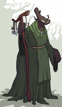 The Timber Witch by DocPox