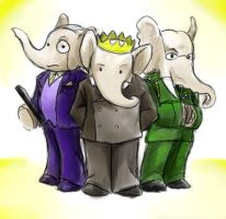 President Babar and Cabinet by jameson9101322