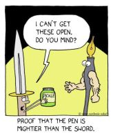 the pen is mightier by The-Sardonics