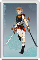 Duelcard: Naru-chan by Arianod
