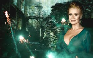Laurie Holden Wallpaper by oab1303