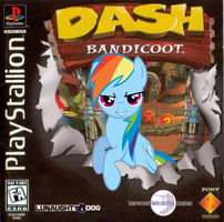 Dash Bandicoot by nickyv917
