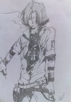 Hitman Reborn Hayato by kimitos-drawing