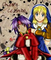 .::Chrono and Rosette::. by yohfan