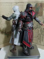 Ezio and Altair by sunsetagain