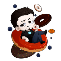 Of Donuts and Blueberries by Firipa