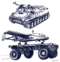 Vehicle Sketching by mighty5cent