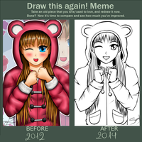 Draw this again 9 by Suna004