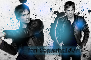 Ian Somerhalder Wallpaper by HoneyHoof