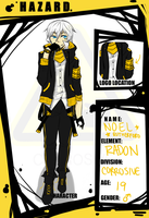 HAZARDOUS :: Noel Rutherford [REVAMP 1/21] by mayhugs