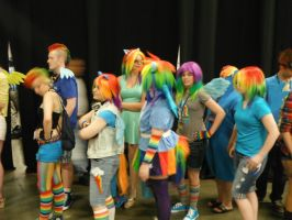 Everything Here is 20% Cooler at BronyCon 2012 by DestinyDecade