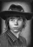 Carl Grimes by LittleRamona