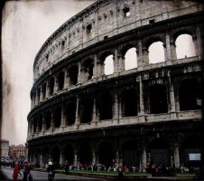 The Colosseum by TheRedRidingHood