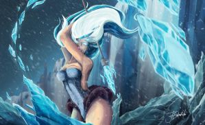 The Ice Witch by jentrediho