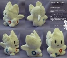 Togetic Pokedoll by Glacdeas