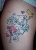 Finished Mofo Tattoo by Pistol-Whipped-Sar