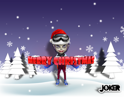 JOKER_Merry Christmas by joker2011