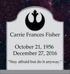 RIP Carrie Fisher by Gray-Vizard