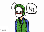 Cryaotic Joker - Hi. by Elpistole