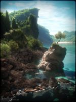 Rocky Shore 2 by 00AngelicDevil00