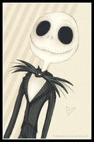 .: Jack Skellington :. by Fallenpeach