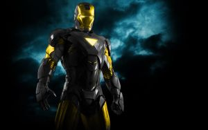 Iron Man Mix Black+Gold by 666Darks
