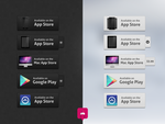 App Download Buttons by DesignDeposit