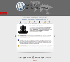 Worldagencies - Web interface2 by Nodtveidt