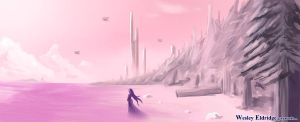 Dreamscape Speedpaint by WesleyDA
