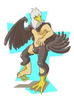 Eagle suit by nesise