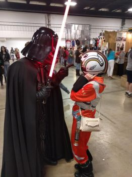 In Which I Meet Darth Vader by ArdentAspen