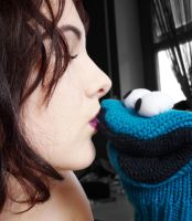 Cookie Monster Kiss by Samiii-chan