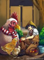 Rooster game by kuraiaku