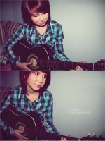 guitar by NikkiVanity
