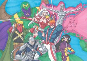 WildC.A.T.S by RobertMacQuarrie1