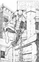 Spidey Leap into action by Chopstyck-King