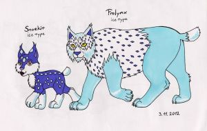 Lynx Fakemons by Punkkis-chan