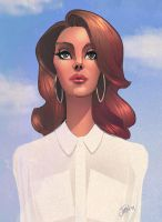 Lana Del Rey - Born to Die by DaveJorel