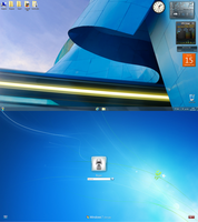 Windows 7 default by LazyLaza