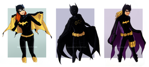 batgirls by chocomantha
