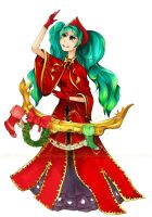 sona league of legends by SaucerQueen