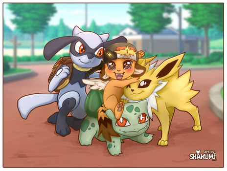 GO for a walk with pokemons by SHAKUMl