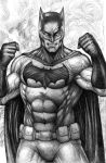 Batman pencils by johnbecaro