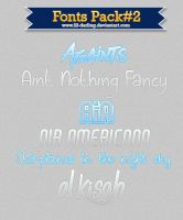 Fonts Pack#2 by Lil-darling