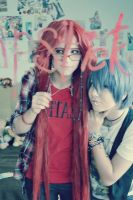 Lipstick. Grell and Ciel. by AliceBoudler