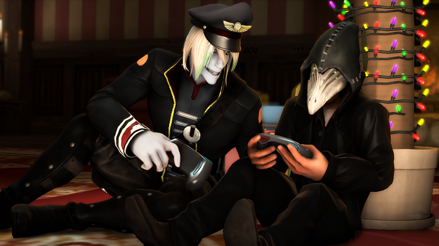 [SFM]Play game by Happich