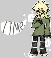 Time goes tic tock~ Gift art by Graffiti-Toxin