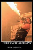 fire breathing germans by ivegotyoursoul
