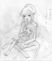 A lullaby for Rin by Reenigrl